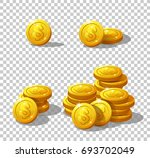 icons coins for the game... | Shutterstock .eps vector #693702049