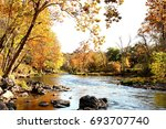 fall stream | Shutterstock . vector #693707740