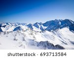 Panoramic View Of The Alps...