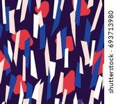 modern seamless pattern design... | Shutterstock .eps vector #693713980