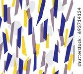 modern seamless pattern design...   Shutterstock .eps vector #693714124