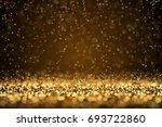 Falling Hot Sparks Background...