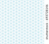 seamless triangle pattern. blue ... | Shutterstock .eps vector #693728146