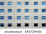 Gray Stone Modern  Facade Of A...