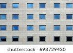 Gray Stone Modern  Facade Of A...