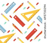 back to school. colorful... | Shutterstock .eps vector #693733294