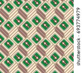 seamless abstract pattern with... | Shutterstock .eps vector #693774979