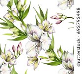 seamless pattern with... | Shutterstock . vector #693793498
