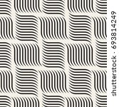seamless pattern with geometric ... | Shutterstock .eps vector #693814249