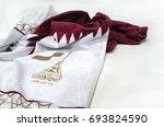doha  qatar   august 10  qatar...   Shutterstock . vector #693824590
