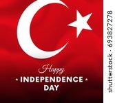 banner or poster of turkey... | Shutterstock .eps vector #693827278