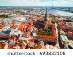 aerial view of the historical... | Shutterstock . vector #693832108