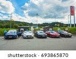 bergen norway   august 10  2017 ... | Shutterstock . vector #693865870