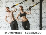 Young Sporty Couple Workout In...
