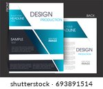 vector business flyer  magazine ... | Shutterstock .eps vector #693891514