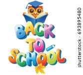 back to school  | Shutterstock .eps vector #693895480