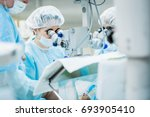 ophthalmology operation.... | Shutterstock . vector #693905410