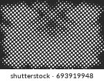 halftone dots background   logo ... | Shutterstock .eps vector #693919948