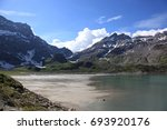 lake salanfe | Shutterstock . vector #693920176