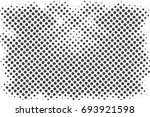 halftone dots background   logo ... | Shutterstock .eps vector #693921598