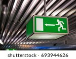 Emergency Exit Sign At An...