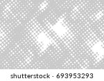 halftone dots background   logo ... | Shutterstock .eps vector #693953293