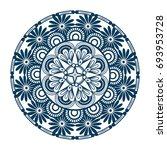 mandala icon image | Shutterstock .eps vector #693953728