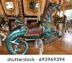A Dragon Ride On A Carousel.