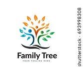 family tree | Shutterstock .eps vector #693998308