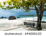natural lighting and shadow of...   Shutterstock . vector #694000120