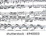music notes | Shutterstock . vector #6940003