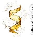 water splash in the form of... | Shutterstock . vector #694012570