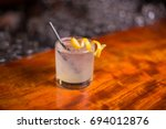 low angle closeup of gourmet... | Shutterstock . vector #694012876