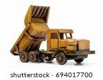 Handmade Wooden Toy Truck...