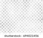 grunge halftone black and white.... | Shutterstock . vector #694021456