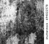 grunge halftone black and white.... | Shutterstock . vector #694022578