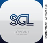 Logo Letter Combinations S  G...