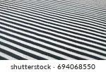black and white texture of... | Shutterstock . vector #694068550