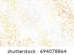 dark green vector pattern with... | Shutterstock .eps vector #694078864