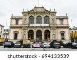 geneva  switzerland   november... | Shutterstock . vector #694133539