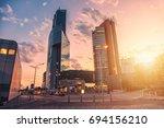 vienna  austria july 6 2017 ... | Shutterstock . vector #694156210