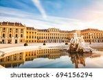 vienna  austria  july 7 2017 ... | Shutterstock . vector #694156294