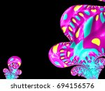 "fun abstraction ""happy monster"".... 