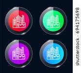 building four color glass...