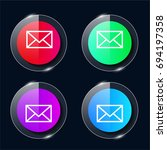 e mail envelope four color...