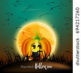 nice and horror abstract for... | Shutterstock .eps vector #694217260