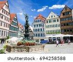 tubingen  germany   july 5 ... | Shutterstock . vector #694258588