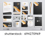 hi detailed corporate brand... | Shutterstock .eps vector #694270969