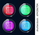seo guide four color glass...
