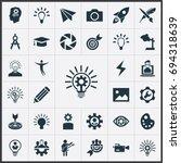 vector illustration set of... | Shutterstock .eps vector #694318639